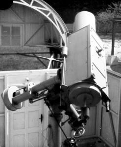 First Schmidt-telescope